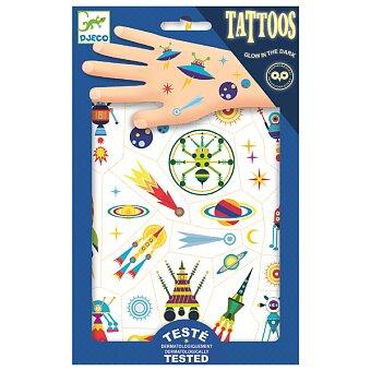 Obrázek produktu Tetování Djeco - Veselý vesmír