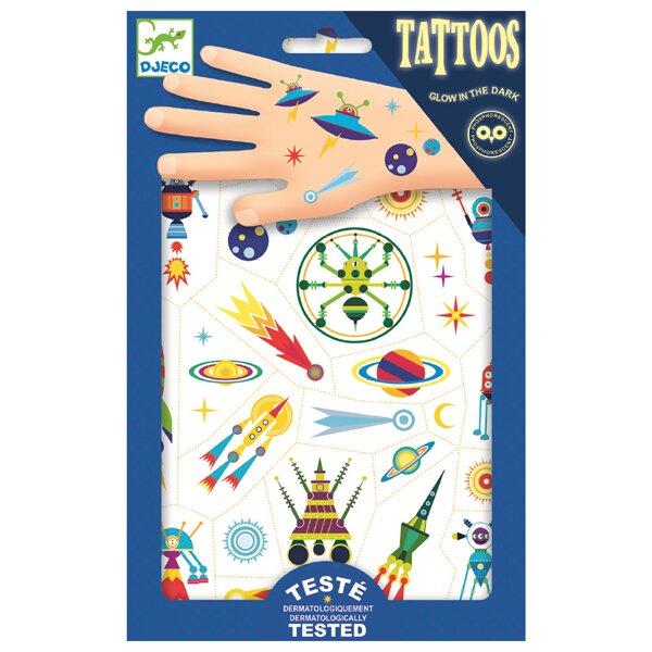Tetování Djeco Veselý vesmír Djeco