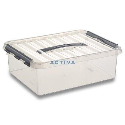 Obrázok produktu Helit Q-line - úložný box - 10 l, 300 × 400 × 110 mm