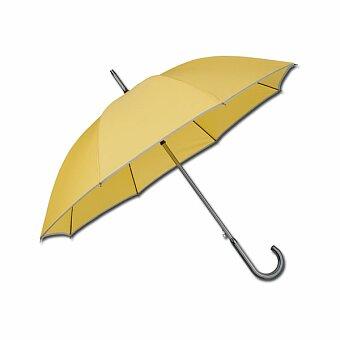 Obrázek produktu STERLING - polyesterový vystřelovací deštník, 8 panelů, žlutá