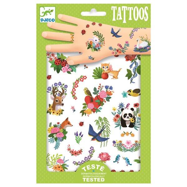Tetování Djeco Šťastné jaro Djeco