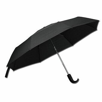 Obrázek produktu SANTINI ANOKI - polyesterový skládací deštník, open/close, 8 panelů, černá