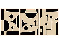 Plakát v dubovém rámu Rune Elmegaard Studio Century Studio Collection