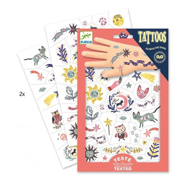 Tetování Djeco Šťastné dny Djeco