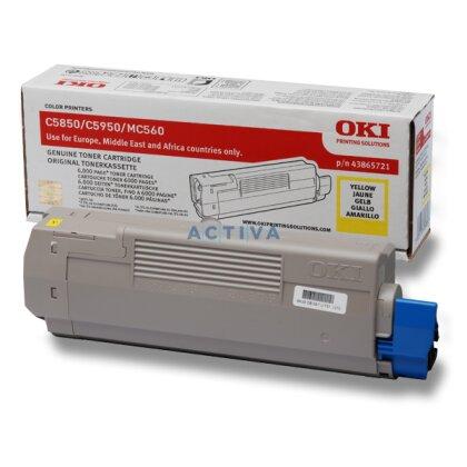 Obrázek produktu OKI - toner C5850 / C5950, yellow (žlutý) pro tiskárny a faxy