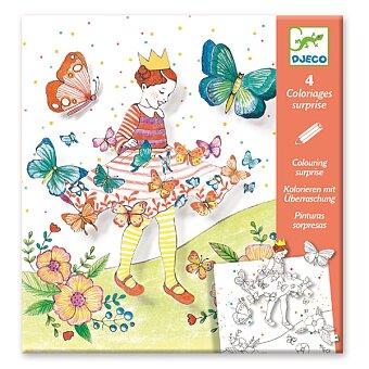 Obrázek produktu Omalovánky Djeco Pop-up - Motýlí princezna