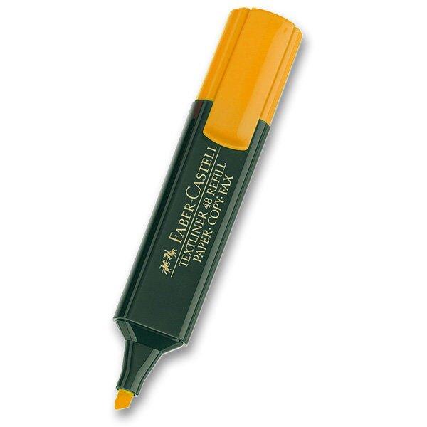 Zvýrazňovač Faber-Castell Textliner 1548 oranžový