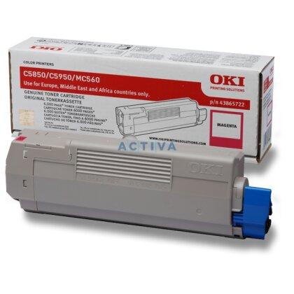 Obrázek produktu OKI - toner C5850 / C5950, magenta (červený) pro tiskárny a faxy
