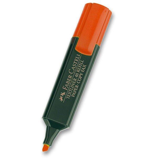 Zvýrazňovač Faber-Castell Textliner 1548 červený