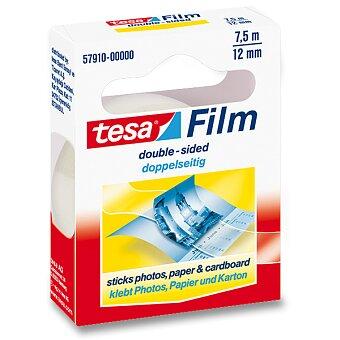 Obrázek produktu Oboustranná lepící páska Tesa Film Double Sides - šíře 12 mm, návin 7,5 m
