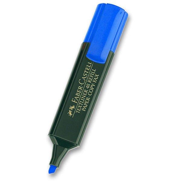 Zvýrazňovač Faber-Castell Textliner 1548 modrý