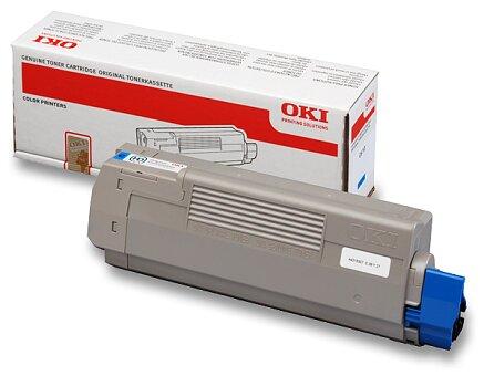 Obrázek produktu Toner OKI C610 pro laserové tiskárny - cyan (modrý)