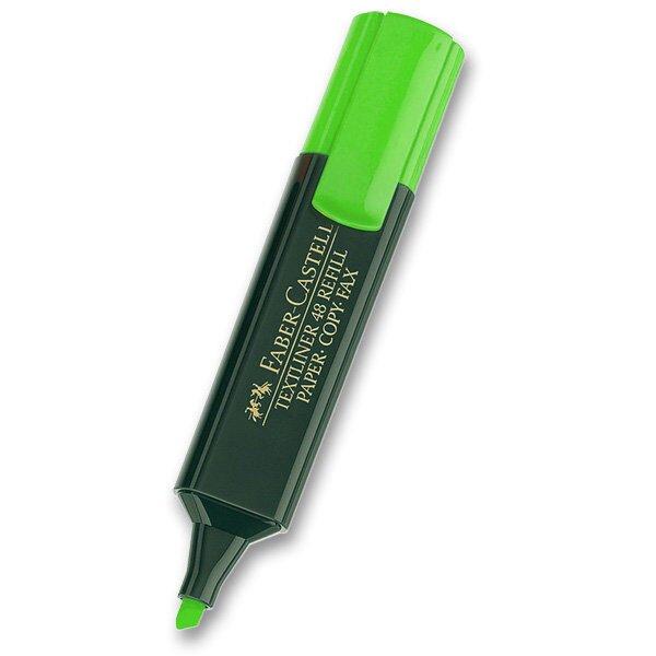 Zvýrazňovač Faber-Castell Textliner 1548 zelený