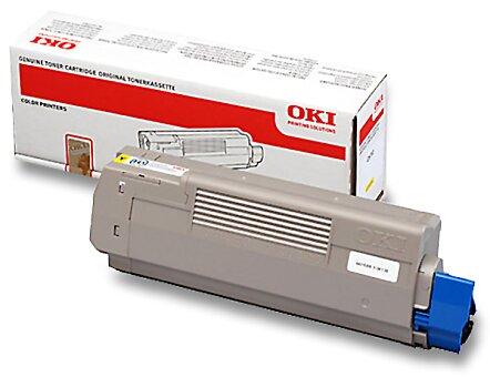 Obrázek produktu Toner OKI C610 pro laserové tiskárny - yellow (žlutý)