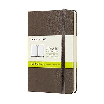 Obrázek produktu Zápisník Moleskine - tvrdé desky - S, čistý, khaki
