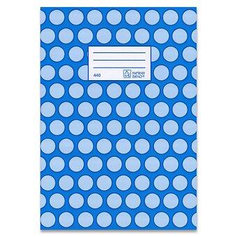 Obrázek produktu Školní sešit Premium 440 - A4, čistý, 40 listů, mix motivů