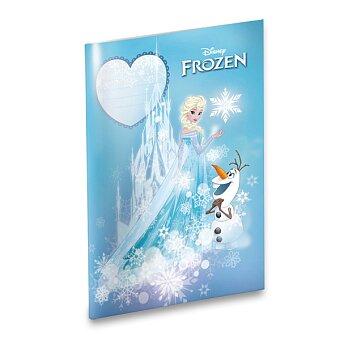 Obrázek produktu Školní sešit Frozen - A4, linkovaný, 40 listů