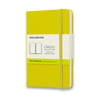 Obrázek produktu Zápisník Moleskine - tvrdé desky - S, čistý, růžový