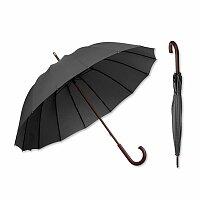HULK - polyesterový manuální deštník, 16 panelů, výběr barev