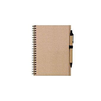 Obrázek produktu REGIS A5 - zápisník s tužkou, natur