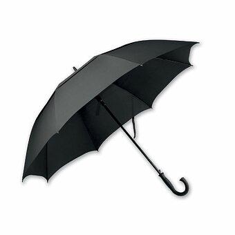 Obrázek produktu SANTINI HONOR - polyesterový vystřelovací deštník, 8 panelů, černá