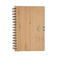 BAMBOO A5 - zápisník, natur