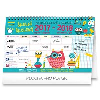 Stolní školní kalendář