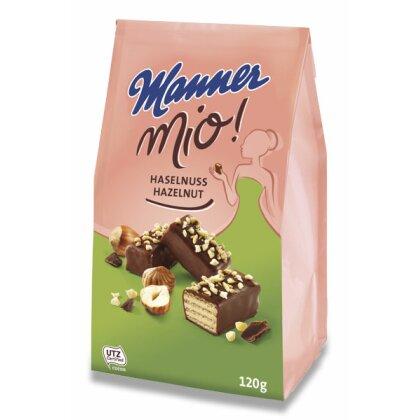 Obrázek produktu Manner Mio! - sušenky s příchutí - oříšek, 120 g