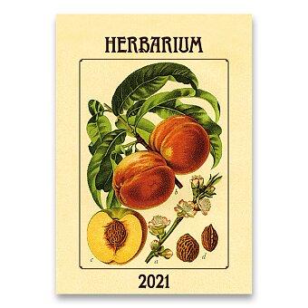 Obrázek produktu Nástěnný obrázkový kalendář Herbarium 2021 - 14 listů, 45 x 31,5 cm