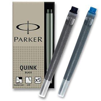 Obrázek produktu Inkoustové bombičky Parker - černé