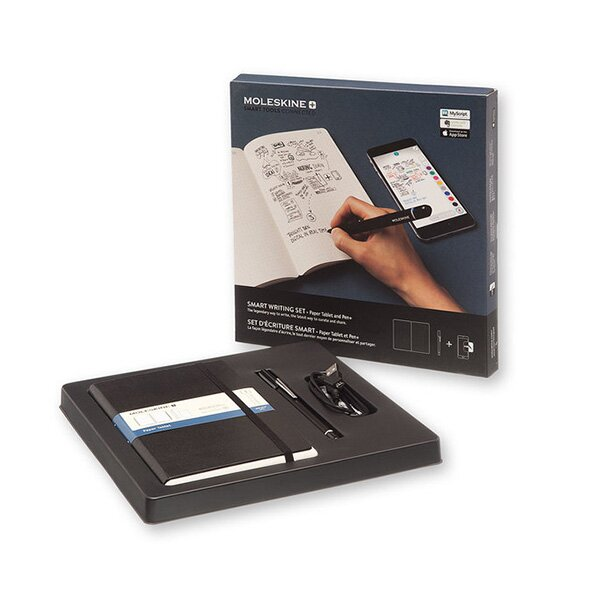 Moleskine Smart Writing Set tečkovaný