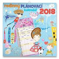 Nástěnný rodinný plánovací kalendář