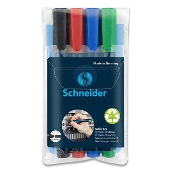 Obrázek produktu Permanentní popisovač Schneider Maxx 130 - sada 4 barev