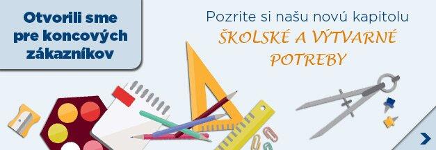 Školské a výtvarné potreby
