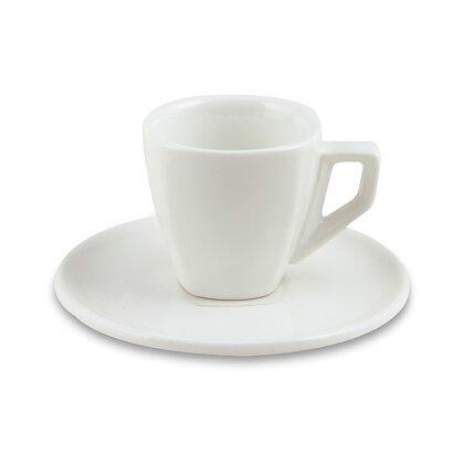 Obrázek produktu Coffee - šálek 60 ml s podšálkem, 6 ks