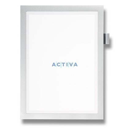Product image Durable Note A4 - information panel - A4, silver