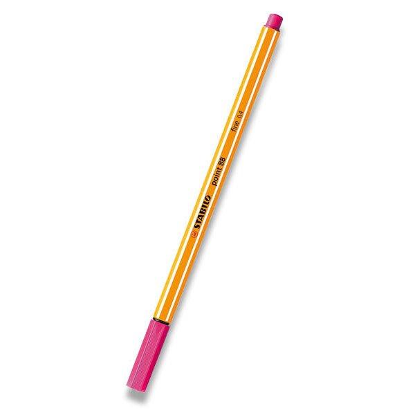 Liner Stabilo Point 88 růžový, neon