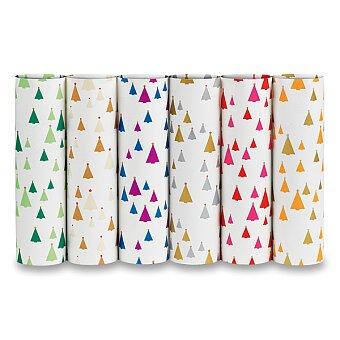 Obrázek produktu Dárkový balicí papír Polare - 2 x 0,7 m, mix barev