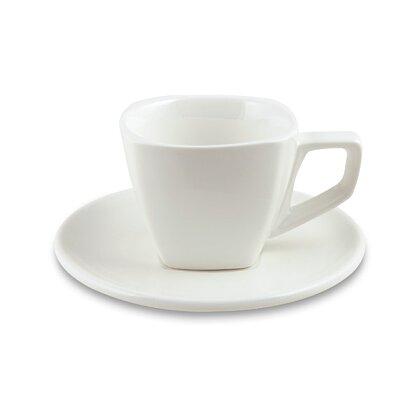 Obrázek produktu Coffee - šálek 250 ml s podšálkem, 6 ks