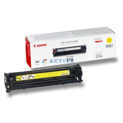 Obrázek produktu Canon - toner CRG-716, yellow (žlutý) pro laserové tiskárny