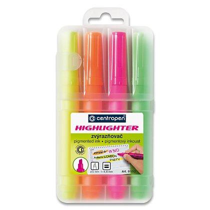 Product image Centropen Highlighter 8552 - highlighter - 4pcs set