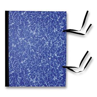 Obrázek produktu Desky s tkanicí - A3, modré
