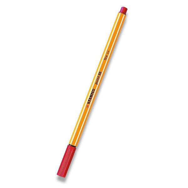 Liner Stabilo Point 88 červený