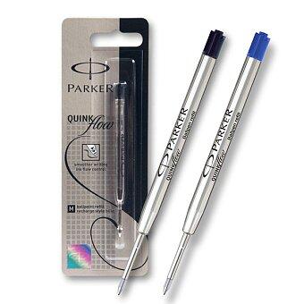 Obrázek produktu Náplň Parker QuinkFlow do kuličkové tužky - černá