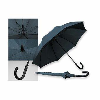 Obrázek produktu SANTINI SILVAN STRIPE - polyesterový vystřelovací deštník, 8 panelů