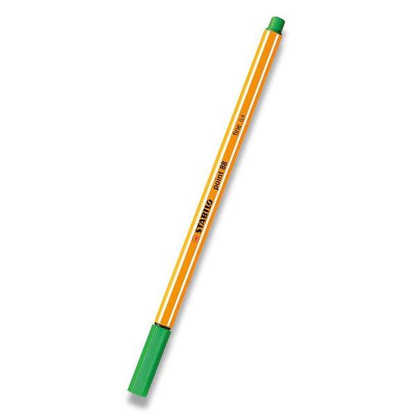 Liner Stabilo Point 88 světle zelený