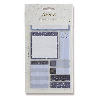 Obrázek produktu Lepicí bločky Indigo - náplň osobních/A5 diářů Filofax