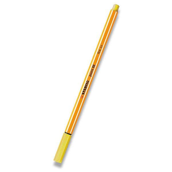 Liner Stabilo Point 88 žlutý