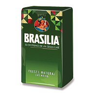 Mletá káva Brasilia Ground Coffe Natur