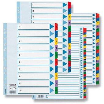 Obrázek produktu Rozlišovač Esselte Mylar - 1 - 31, 31 listů